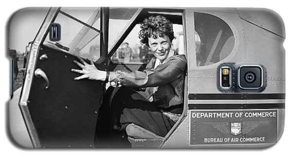 Amelia Earhart - 1936 Galaxy S5 Case by Daniel Hagerman