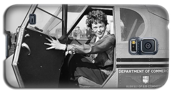 Airplane Galaxy S5 Case - Amelia Earhart - 1936 by Daniel Hagerman