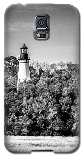 Galaxy S5 Case featuring the photograph Amelia Island Lighthouse by Wade Brooks