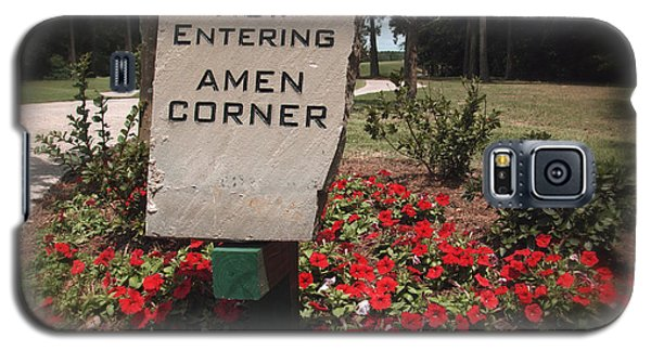 Amen Corner - A Golfers Dream Galaxy S5 Case