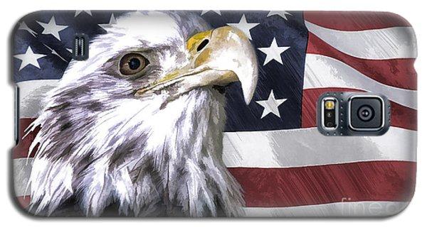 America Galaxy S5 Case by Linda Blair