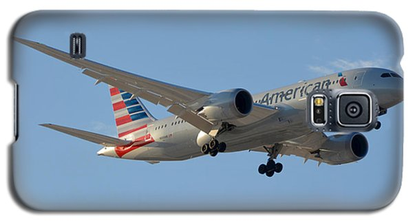 American American Airlines First Boeing 787-823 N800an Landing Phoenix Sky Harbor March 7 2015  Galaxy S5 Case