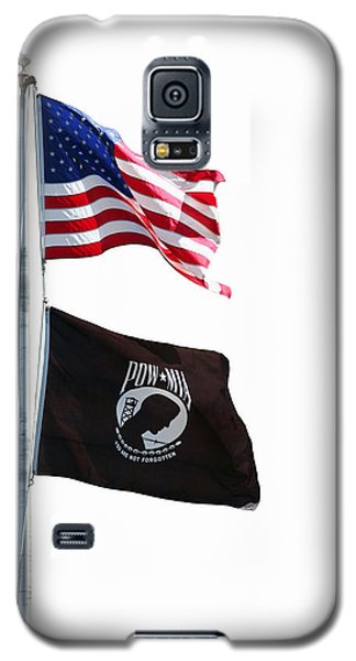 American And Pow-mia Flags Galaxy S5 Case