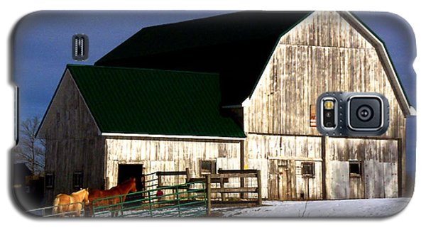 American Barn Galaxy S5 Case by Desiree Paquette
