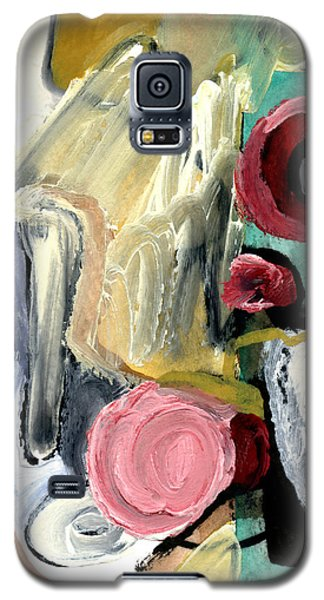 Galaxy S5 Case featuring the painting American Beauty by Stephen Lucas