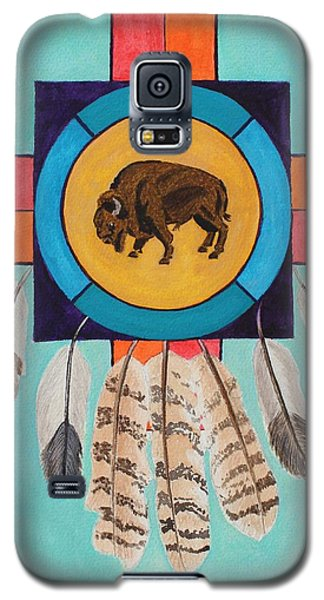 American Bison Dreamcatcher Galaxy S5 Case