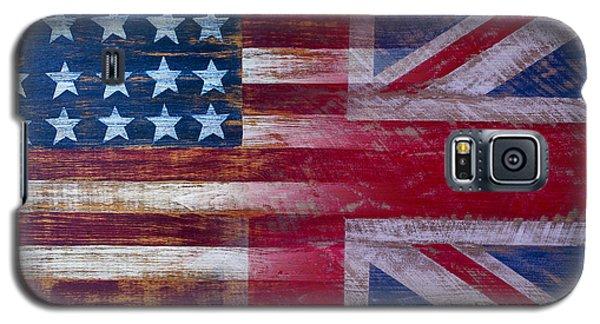American British Flag 2 Galaxy S5 Case