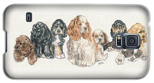American Cocker Spaniel Puppies Galaxy S5 Case