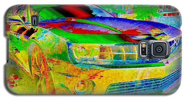 Galaxy S5 Case featuring the mixed media American Dream by Rogerio Mariani
