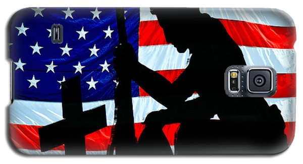 A Time To Remember American Flag At Rest Galaxy S5 Case