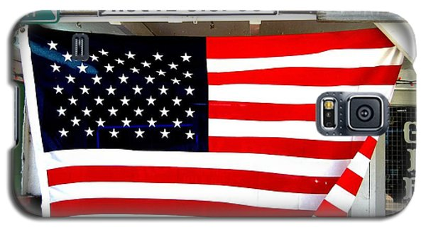 American Flag Route 66 Galaxy S5 Case