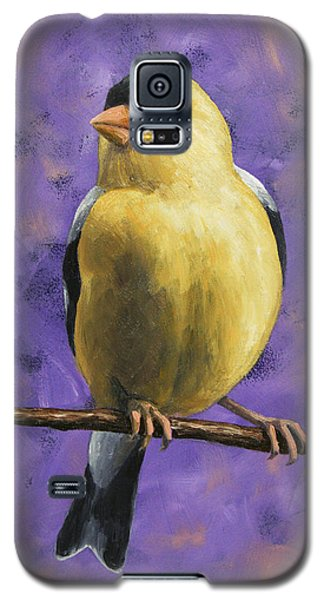 Finch Galaxy S5 Case - American Goldfinch by Crista Forest