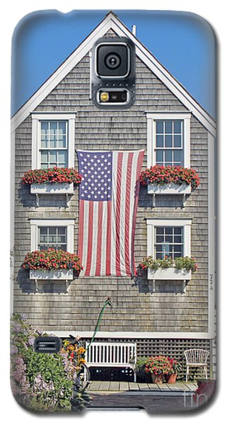 Galaxy S5 Case featuring the photograph American Harbor House by Sebastian Mathews Szewczyk
