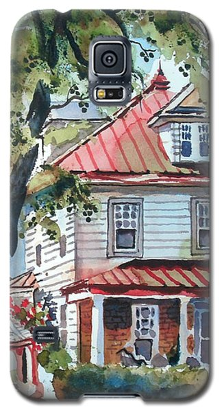 American Home With Children's Gazebo Galaxy S5 Case
