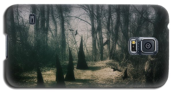Raven Galaxy S5 Case - American Horror Story - Coven by Tom Mc Nemar