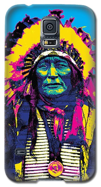American Indian Chief Galaxy S5 Case