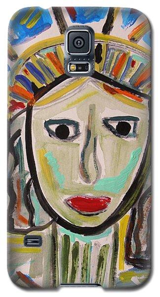 American Lady Galaxy S5 Case by Mary Carol Williams
