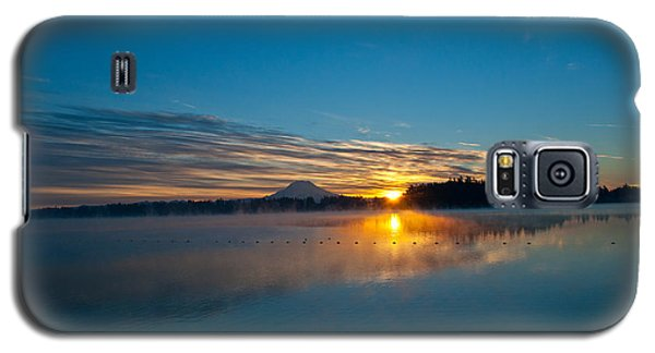 American Lake Sunrise Galaxy S5 Case by Tikvah's Hope