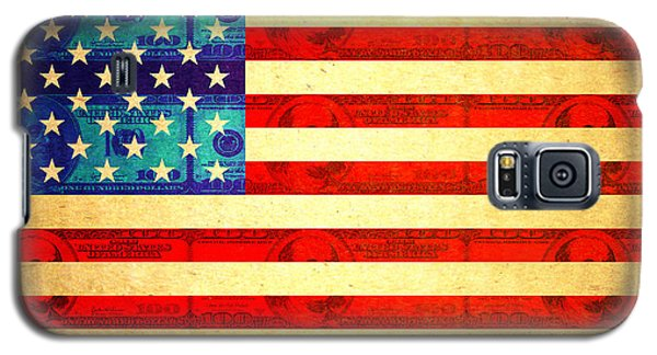 American Money Flag Galaxy S5 Case