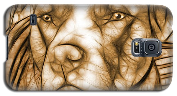 American Pit Bull - Sepia Sketch  Galaxy S5 Case