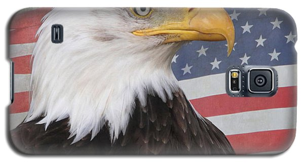 American Pride Galaxy S5 Case by Angie Vogel