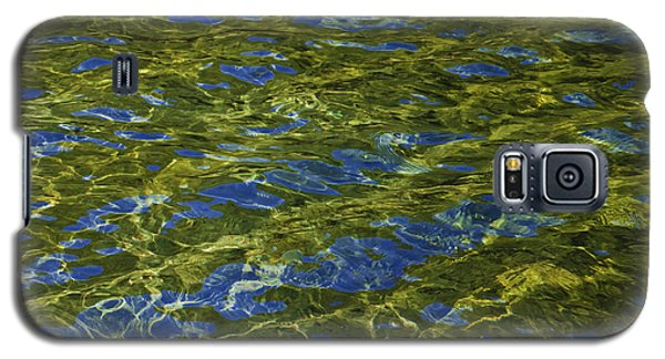 Galaxy S5 Case featuring the photograph American River Abstract 2 by Sherri Meyer