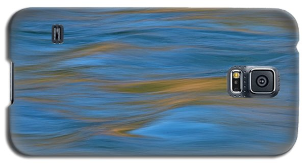 Galaxy S5 Case featuring the photograph American River Abstract by Sherri Meyer