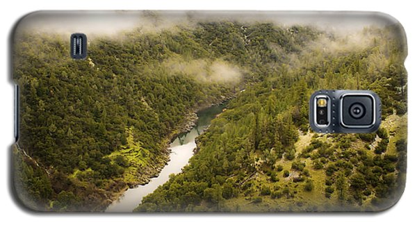 Galaxy S5 Case featuring the photograph American River Beauty by Sherri Meyer