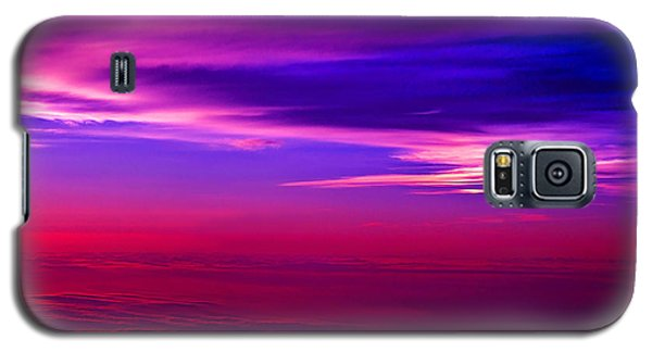 Galaxy S5 Case featuring the photograph American Sky by Adam Olsen