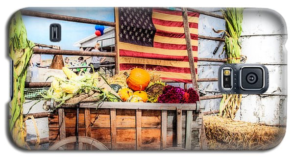 Galaxy S5 Case featuring the photograph Americana Farm Scene by Eleanor Abramson