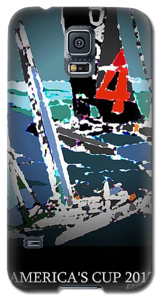 America's Cup 2013 Poster Galaxy S5 Case by Andrew Drozdowicz