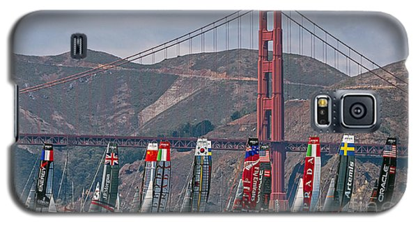 Americas Cup Catamarans At The Golden Gate Galaxy S5 Case