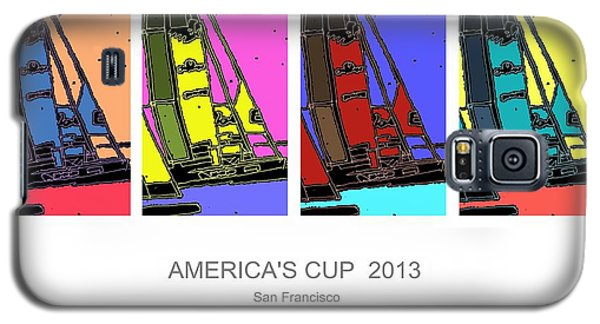 America's Cup Poster 3 Galaxy S5 Case by Andrew Drozdowicz