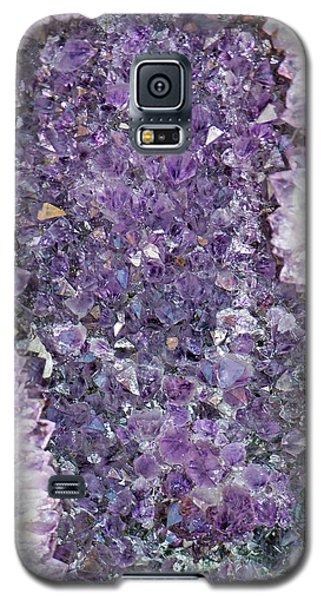 Amethyst Geode Galaxy S5 Case