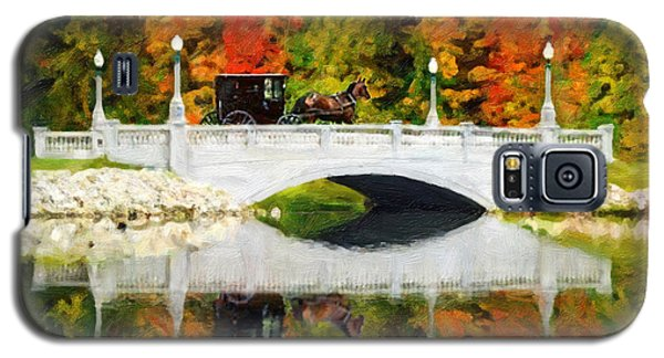 Amish Buggy On Buhl Bridge Galaxy S5 Case