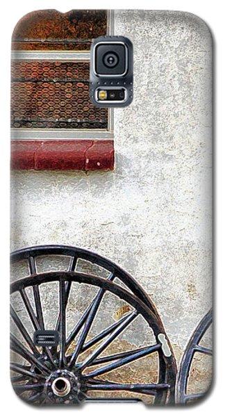 Amish Buggy Wheels Galaxy S5 Case