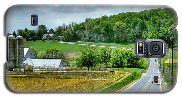 Amish Countryside Galaxy S5 Case