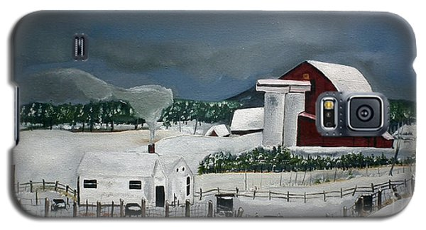 Amish Farm - Winter - Michigan Galaxy S5 Case