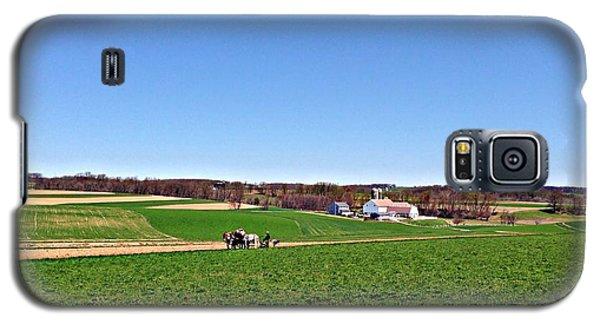 Amish Farmer Galaxy S5 Case