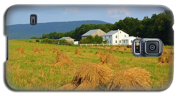 Amish Harvest #1 - Milroy Pa Galaxy S5 Case