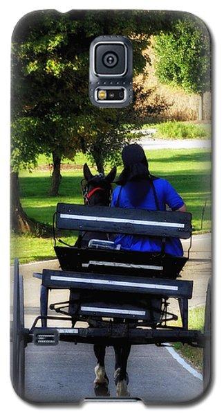 Amish Lady #2 Galaxy S5 Case
