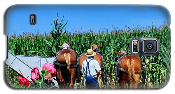 Amish Plowing Galaxy S5 Case