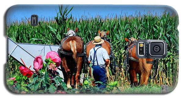 Amish Plowing Galaxy S5 Case