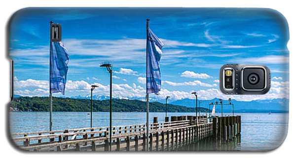 Galaxy S5 Case featuring the photograph Ammersee - Lake In Bavaria by Juergen Klust