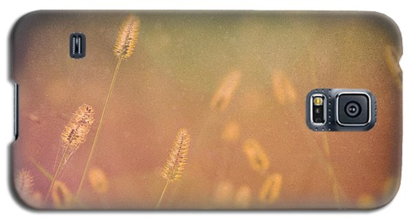 Among The Prairie Grasses Galaxy S5 Case by Julie Clements