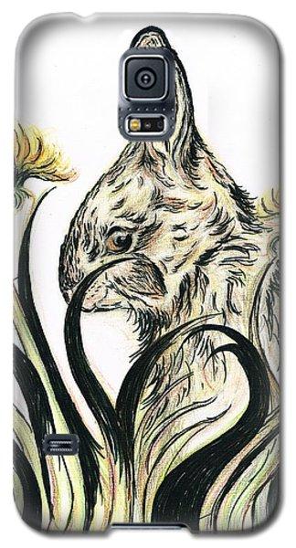 Rabbit- Amongst The Dandelions Galaxy S5 Case by Teresa White