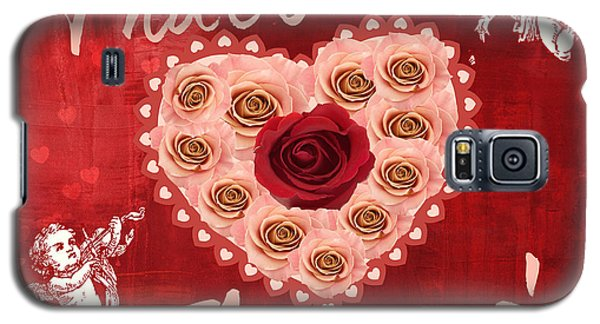 Amore Valentine Galaxy S5 Case by Mindy Bench