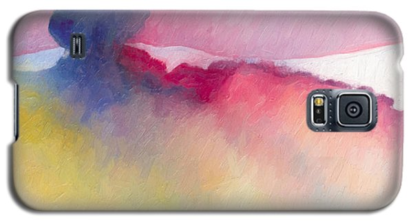 Galaxy S5 Case featuring the painting Amorphous 48 by The Art of Marsha Charlebois
