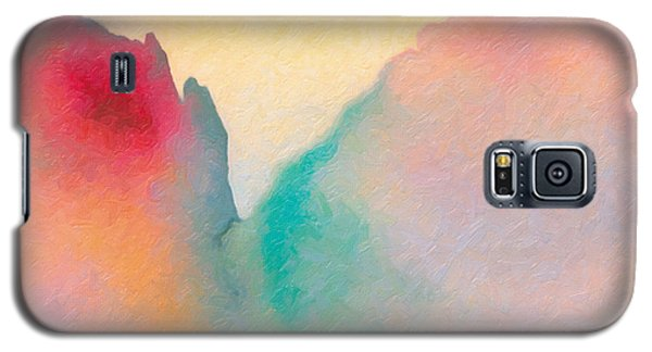 Galaxy S5 Case featuring the painting Amorphous 50 by The Art of Marsha Charlebois