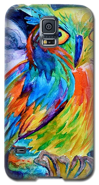Ampersand Owl Galaxy S5 Case by Beverley Harper Tinsley